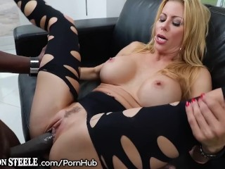 Lexington Steele Deep Inside Alexis Fawx's Gorgeous Gash