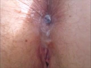 Best pleasurable outdoor anal perfect view creampie