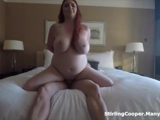 Busty Redhead Fucked in the Bedroom