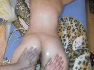 ASS,PUSSY,ANAL MASSAGE WITH OIL