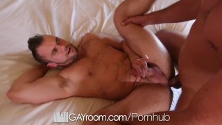 GayRoom Hotel massage fuck with hunks Blaze Austin and Tyler Roberts