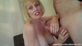 Cuckold Fantasy Better Than Hubby  grannies gilf granny cuckold old wife amateur blowjob mom milf wickedsexymelanie rough mature mother swinger