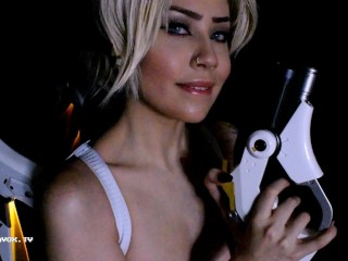 HD Mercy from Overwatch tells you how you should jerk off | Felicia Vox