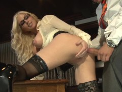 MEGA TITTY LEGAL ASSISTANT CHRISTIE STEVENS ANAL FUCKED AT OFFICE