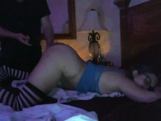 Lingerie Party Girl Loud Squirt Orgasms -Daddy Fingers Whips & Glass Dildo