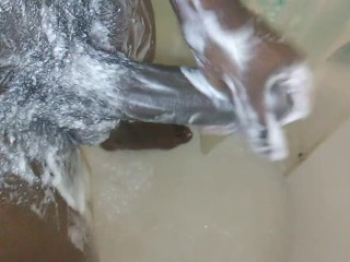 Shower Choklit Cumshot..