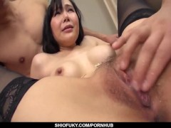 Hardcore sex for busty Japan milf Miu Watanabe