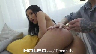 HOLED Interview anal fuck with great rack asian Vicki Chase  ass fuck vicki chase hd asian blowjob anal toys big dick anal sex 60fps dark haired latina holed anal natural tits anal creampie