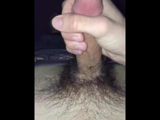Late night cum shot
