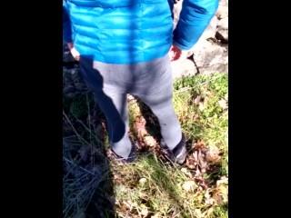 Mi scappa la pipì mentre passeggio nel parco