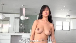 CastingCouch X Busty asian Jade Kush fuck by casting agent  big tits hd asian blowjob public pov casting busty hardcore reality sex cum shot casting couch x jade kush cuminmouth castingcouch x