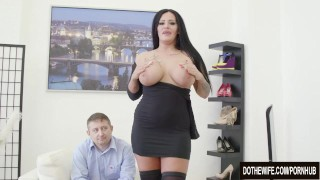 Preview 4 of Swinger slut Ashley Cumstar fucked in front of husband