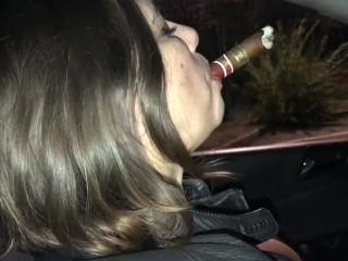 fat cigar dangling