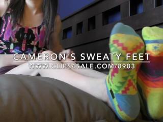 Cameron's Sweaty Feet - (Dreamgirls in Socks)