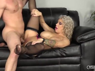 Alyssa Lynn Is a Lingerie Wearing Naughty MILF Who Wants To Rock Your World