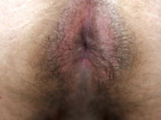 Chubby Latino Spreads Ass and Jerks Off For You