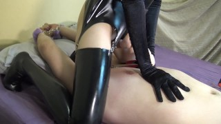 Femdom mistress milking & fuck hard her slave in ass with strapon  chastity cum bdsm hardcore femdom facesitting mistress domination strapon man femdom strapon bdsm slave femdom milking strapon bdsm chastity femdom chastity slave chastity femdom mistress strapon chastity belt