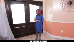TeenPies - Muslim Teen Filled With Hot Load Of Cum