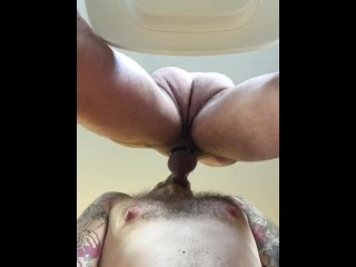 Sucking straight guy on work conference call