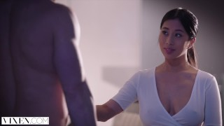Preview 2 of VIXEN Young Asian Student Has Passionate Sex With Neighbor