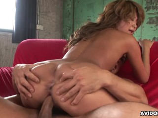 Small titty small boobs brunette moans as she's fucked