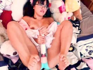 Momoka Koizumi - Asian Hentai Loli Makes Herself Cum