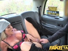 Mature busty milf licks arse and empties big balls