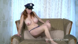 Preview 4 of Elouisa is a masturbating policewoman today for us