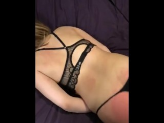 submissive slut gets whiped