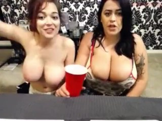 Leanne Crow and Tessa Flower webcam