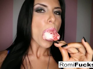 Romi Rain Sexy Fun with herself