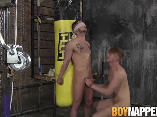 Koby Lewis lusts for Tyler Underwoods fat juicy rod