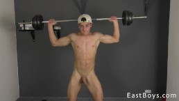 Sexy Muscle Boy - Nude Fitness Casting