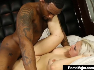 Black Bull Rome Major Slams Jenna Ivory's Hot Creaming Cunt!