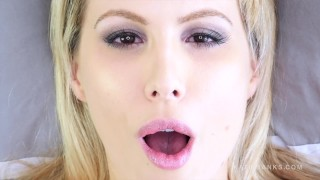 Face Fetish Fucking up close and personal with blonde Katie Banks  close up dirty talking wife fetish pov point of view homemade girlfriend intense orgasm mutual masturbation up close canadian face only kink non nude mutual orgasm experiment real orgasm amateur missionary pov