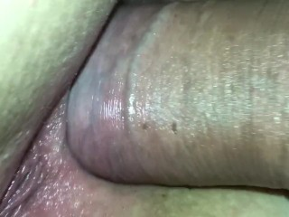 Queenlean taking young tilts cock up her ass for