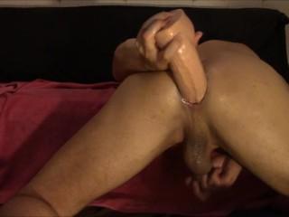 Riding my big juicy cock deep