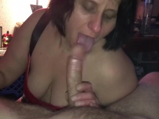 Amazing cock whore smokes and gets the cum
