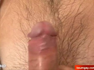 Lorant's big cock massage ! (straight guy seduced for gay porn)