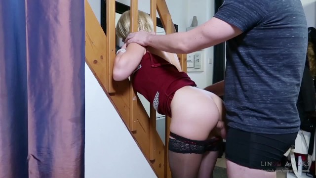 Step-Mom Stuck Force Fucked, Get Anal Sex And Cum In Mouth -7762