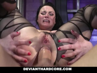 DeviantHardcore - Submissive Whore Veruca James Fucked In The Ass