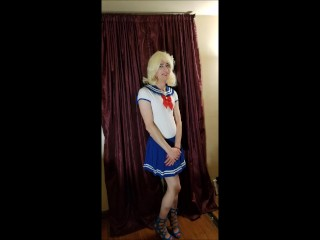Sissy punished for removing her chastity device Part 1 out of 3