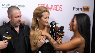 Pornhub on the Red Carpet with Asa Akira and Keiran Lee  red carpet asa akira asa adventures vegas funny tattoo skinny big dick japanese pornstars compilation interview adventure award questions avn avn awards