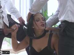 Glamkore - Euro Slut Black Sophie Sleeps with bf's friend