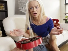 Bratty Sis - Little Sister Falls For Brothers Valentines Day Surprise S4:E4