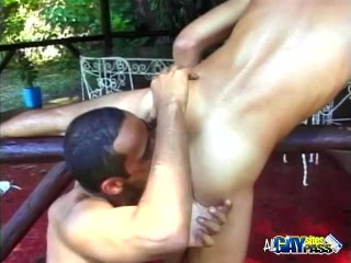 Sweet Rimming Before Ass Fucking
