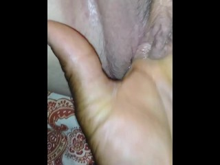 Fingering My Lady Friend And Making Her Cum
