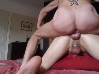 Daddy rides a smooth greedy hole