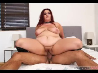 Busty BBW MILF Alexa Grey Loves Latino Cock