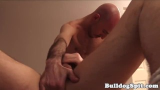 Twink ass spunked after anaplay with big toys
